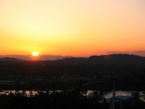 Dawn in Portland