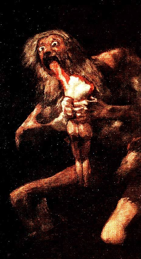 saturn devouring his son Saturn devouring his sons by goya painting analysis, large resolution images,  user comments, slideshow and much more.