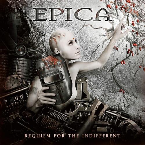 Výsledek obrázku pro epica requiem for the indifferent cover