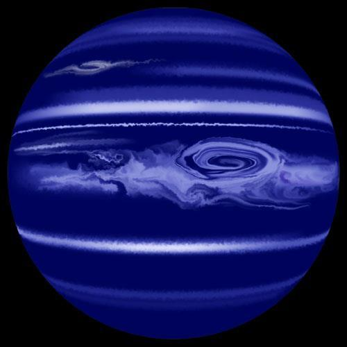 planet neptune color - photo #20
