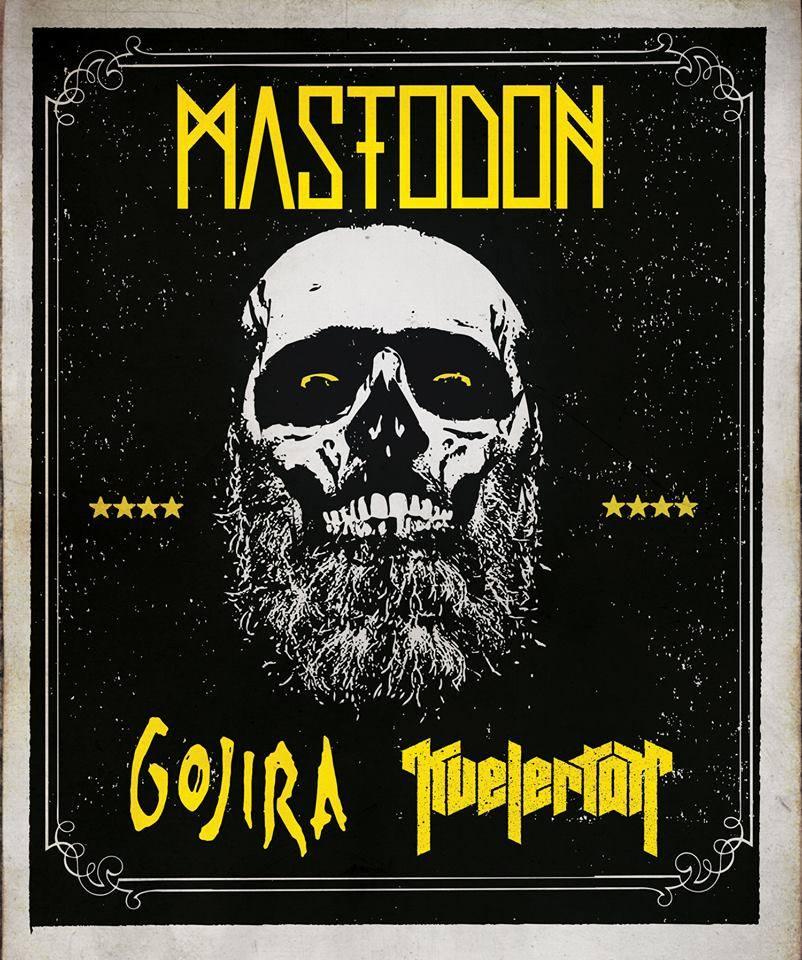 Mastodon Gojira Tour