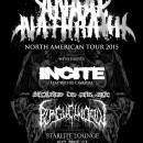 SHOW REVIEW:  ANAAL NATHRAKH, INCITE, SECRETS OF THE SKY, PLAGUE WIDOW
