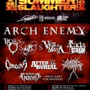 ARCH ENEMY HEADLINES SUMMER SLAUGHTER 2015