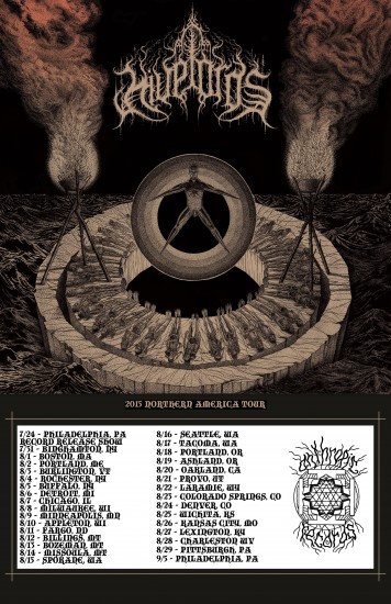 Hivelords North America Tour 2015
