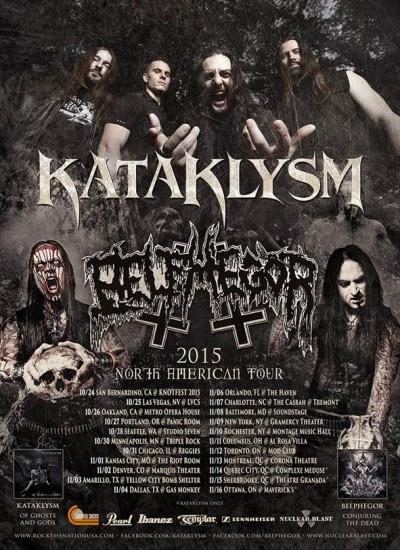 Kataklysm-Belphegor tour
