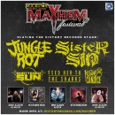 GODLESS ANGEL INTERVIEWS VICTORY RECORDS STAGE ARTISTS FROM THE ROCKSTAR ENERGY DRINK MAYHEM FESTIVAL