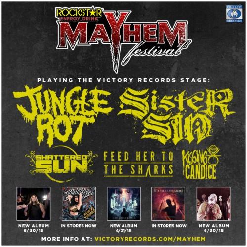 Mayhem victory records stage