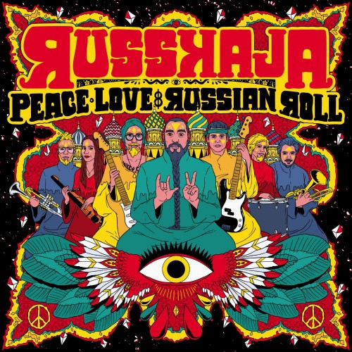 Russkaja-Peace Love and Russian Roll