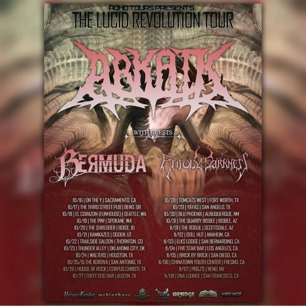 Arkaik Tour flyer