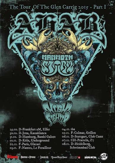 Ahab Tour flyer web