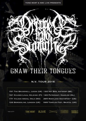 DIS-Gnaw Their Tongues tour