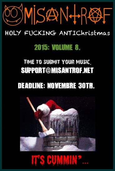 Misantrof ANTIChristmas flyer