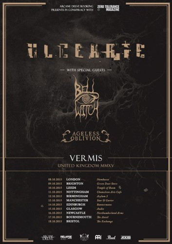 Ulcerate-Bell-Witch-Ageless-Oblivion-UK-Tour-2015