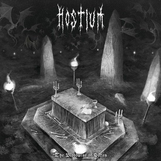 Hostium-The Blood Wine of Satan