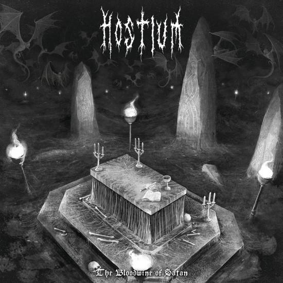 Hostium-The Blood Wine of Satan