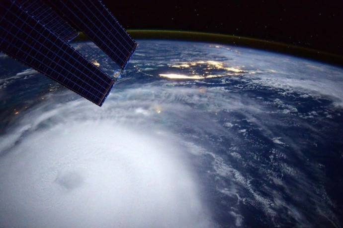 Scott Kelly-Hurricane Joaquin