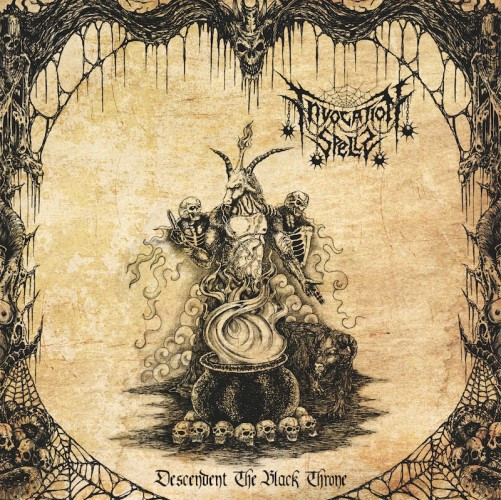 invocation spells - descendent the black throne cover