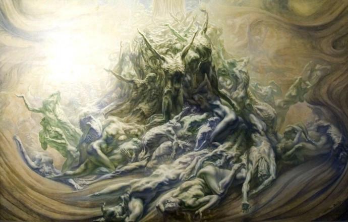 jean-Delville-detail-l'homme Dieu-2