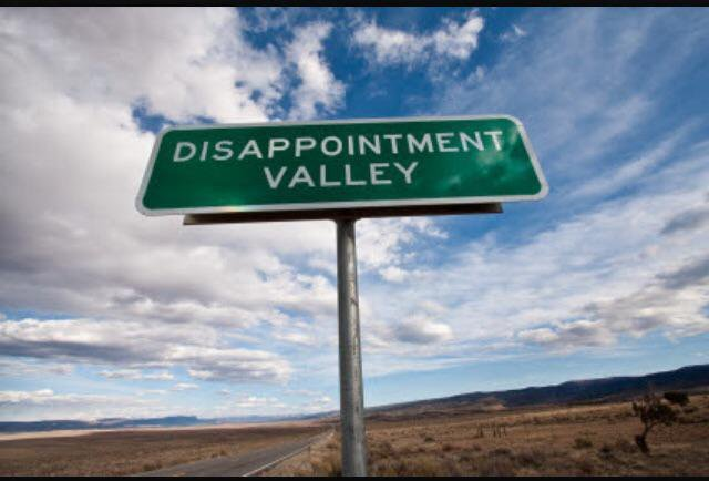 Disappoinment valley