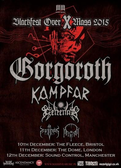 Gorgoroth show Sound Control