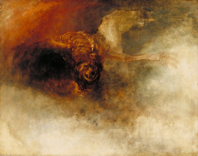Joseph Mallord William Turner-Death On A Pale Horse-c1825-30