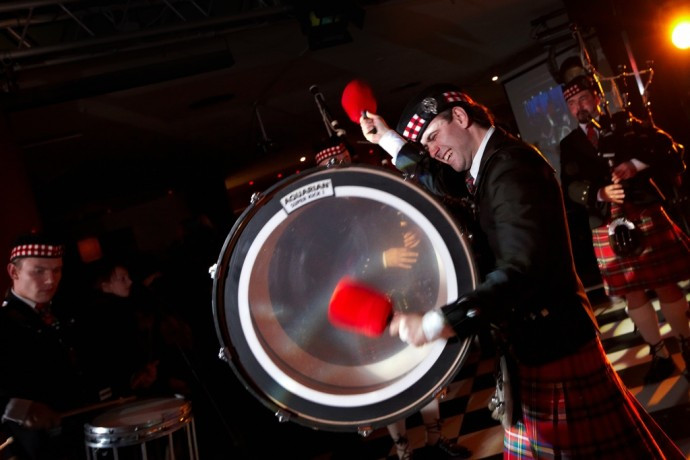 Moscow District Pipe Band