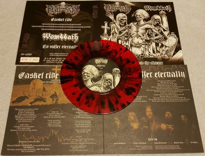 Wombbath-Revel In Flesh split