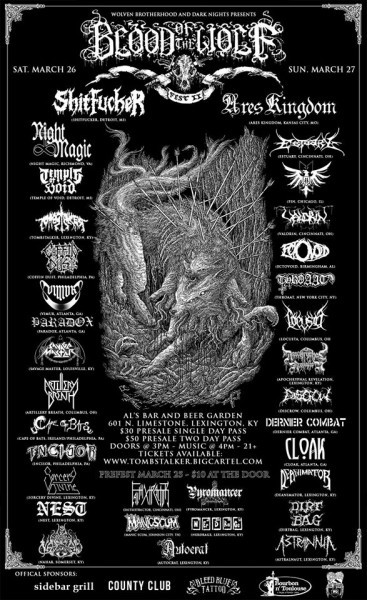 Blood of the Wolf Fest II poster