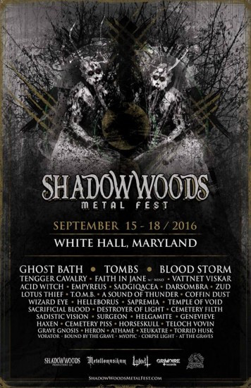 Shadow Woods Metal Festival 2016