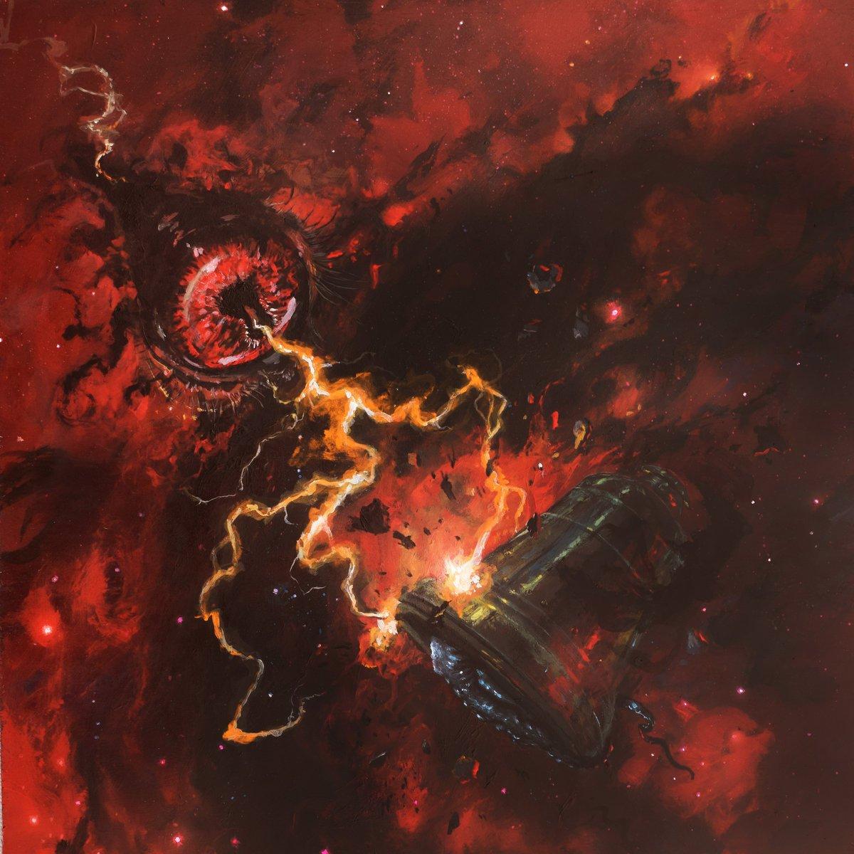 Mare Cognitum-Aureole- Resonance- Crimson Void