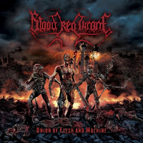 Blood Red Throne-Union of Flesh and Machine
