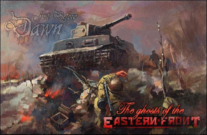 Just Before Dawn-The Ghosts of the Eastern Front cover