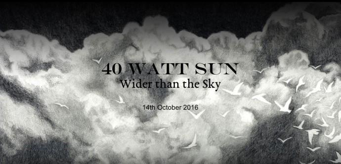 40 Watt Sun banner