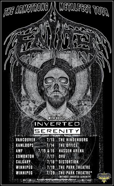 Entity 2016 tour