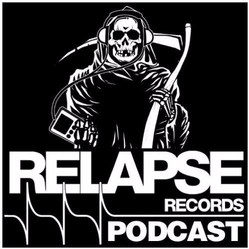 Relapse Records Podcast art