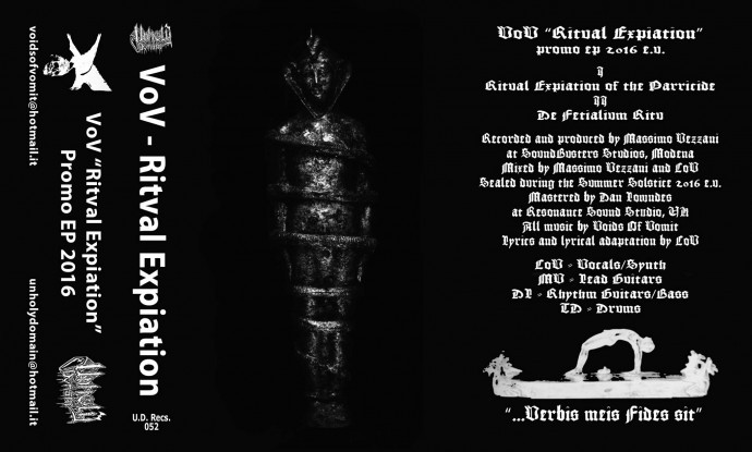 Voids of Vomit-Ritval Expiation