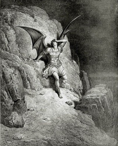 Gustave Dore-Satan from Paradise Lost