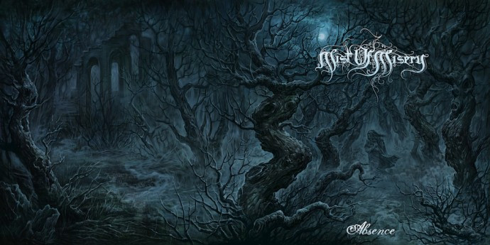 Mist of Misery-Absence-front and back