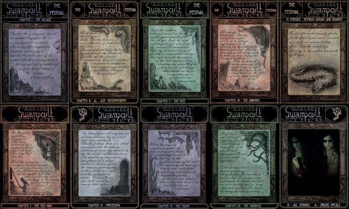 Swampcult story cards