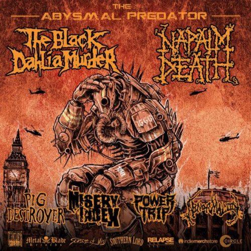 The Abysmal Predator Tour flyer