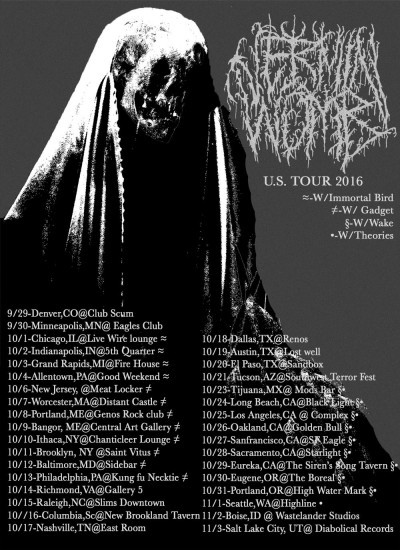 Vermin Womb tour 2016