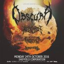 OBSCURA / REVOCATION / BEYOND CREATION / RIVERS OF NIHIL – LIVE AT THE CORPORATION, SHEFFIELD 24/10/16
