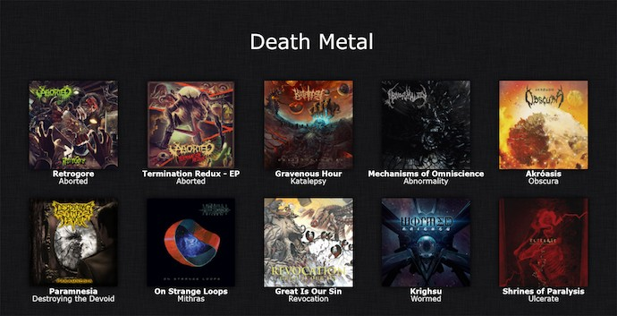 death-metal-list