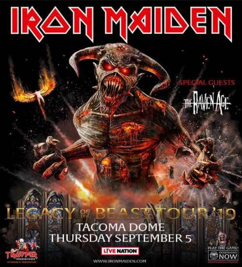 CONCERT REVIEW: IRON MAIDEN - LIVE AT THE TACOMA DOME